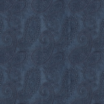Plush Paisley – Cool Blue