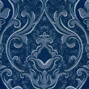 Traviata Damask – Navy